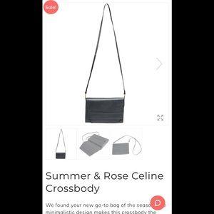 Summer & Rose Celine Crossbody bag